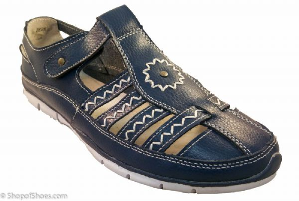 Great value blue lightweight comfortable fun summer shoe.